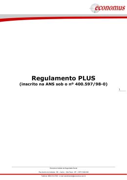 Regulamento PLUS