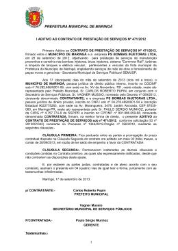 I Aditivo Contrato 471/2012