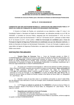 Edital 57-2012 - Governo da Paraíba