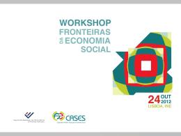 A Contabilidade da economia social em Portugal