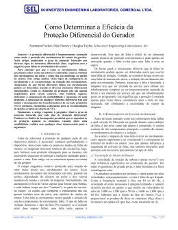 Como Determinar a Eficácia da Proteção Diferencial do Gerador
