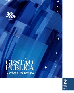 Revista Gestão Pública ANO 2 - Saeb