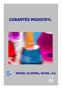 Especificações Migocryl