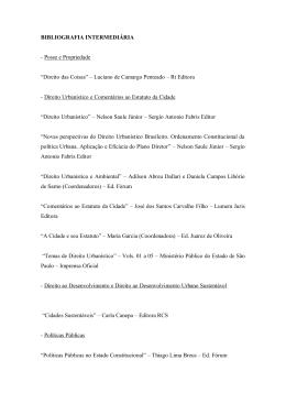 Bibliografia Intermediaria
