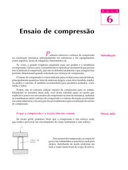 6 Ensaio de compressão