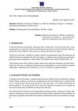 40. NT 006311-2013 - Relatório de Vistoria MEIO Fà SICO