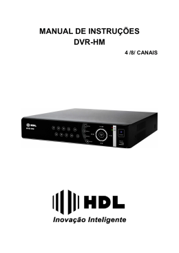 Manual DVR-HM