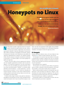 Honeypots no Linux