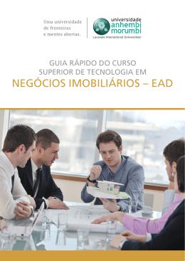 GUIA RÁPIDO - NEGÓCIOS IMOBILIÁRIOS - EAD