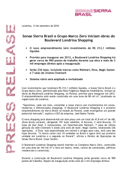 PDF - Sonae Sierra Brasil