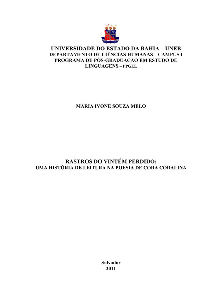Meu Livro De Cordel Cora Coralina Pdf