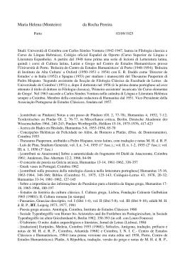 Esplio bibliogrfico de joo pereira dias 1894 maria helena monteiro da rocha pereira fandeluxe Image collections