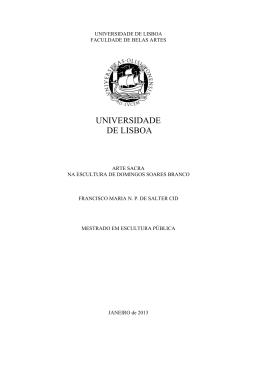ULFBA_TES 565 - Repositório da Universidade de Lisboa