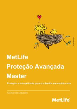 Manual MetLife Proteção Avançada Master