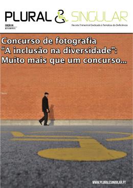 """Concurso de fotografia """"A inclusão na diversidade"""": Muito mais que"""
