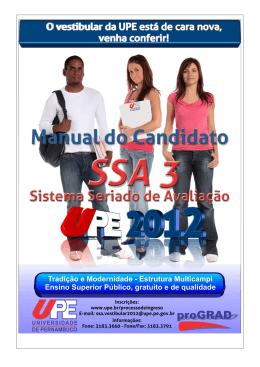 Manual do SSA 3
