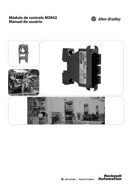 Módulo de controle MSR42, Manual do usuário