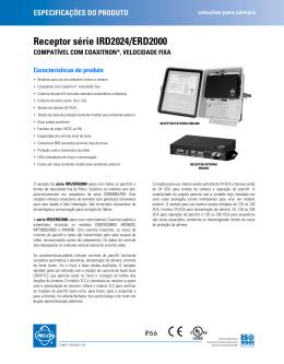 Receptor série IRD2024/ERD2000