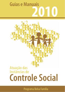 Atuação das Instâncias de Controle Social – Programa