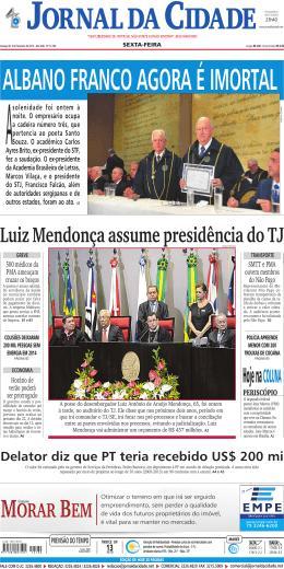 orar eM - Jornal da Cidade