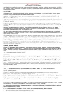 REVISTA ÂMBITO JURÍDICO ® Nota fiscal de servi? e boleto banc