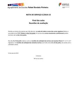 PDF – Nota de Serviço 5/2014-15