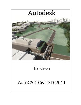 O Autodesk Civil 3D foi desenvolvido na plataforma do Autodesk