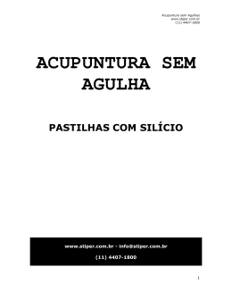 ACUPUNTURA SEM AGULHA