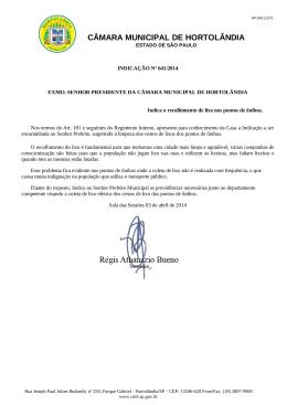 RECOLHIMENTO DE LIXO NOS PONTOS DE ÔNIBUS