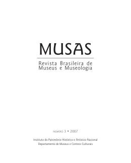 Revista MUSAS - Instituto Brasileiro de Museus