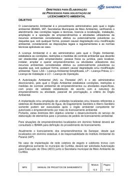 12 5-Diretrizes-Licenciamento Ambiental -2011-MPS