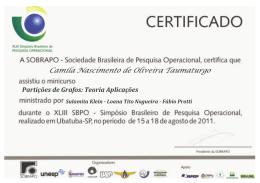 Camila Nascimento de Oliveira Taumaturgo