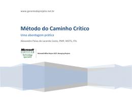 Método do Caminho Crítico (Folga Livre)