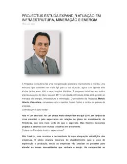projectus estuda expa infraestrutura, minera ctus estuda expandir