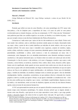 Introdução à Comunicação Não Violenta (CNV)