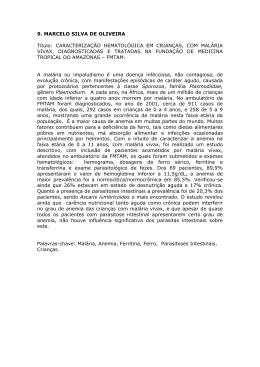 9. MARCELO SILVA DE OLIVEIRA Título: CARACTERIZAÇÃO