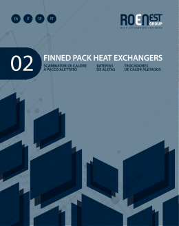 02 FINNED PACK HEAT EXCHANGERS
