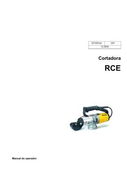 Cortadora RCE - Wacker Neuson