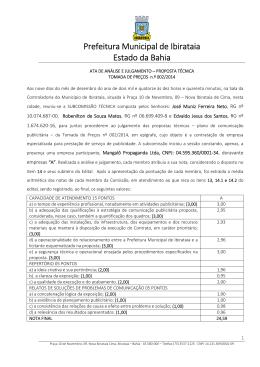 Prefeitura Municipal de Ibirataia Estado da Bahia