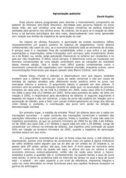 Apreciação patente - Instituto de Economia da UFRJ
