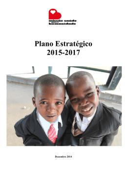 Plano Estratégico 2015-2017