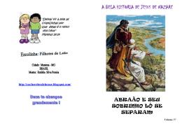 Abraao e seu sobrinho Ló se separam