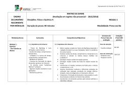 Módulo 1 - Agrupamento de Escolas Rio Tinto nº3