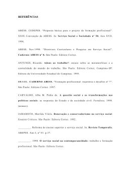 Referências e anexos - CCHLA - Universidade Federal da Paraíba