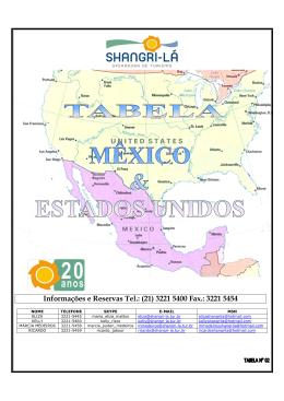 México - Premium Viagens e Turismo