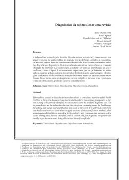 Diagnóstico da tuberculose: uma revisão