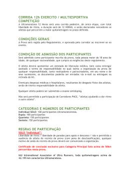 CORRIDA 12h EXERCITO / MULTIESPORTIVA