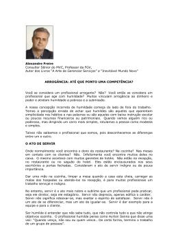 Alexandre Freire Consultor Sênior do MVC, Professor da FGV, Autor