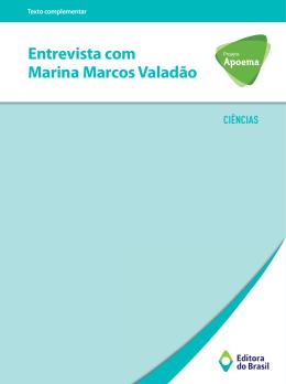 Entrevista com Marina Marcos Valadão