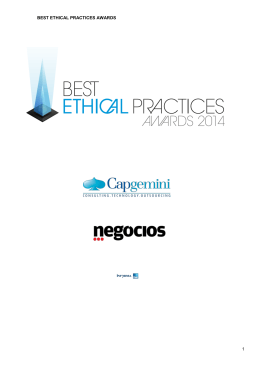 BEST ETHICAL PRACTICES AWARDS 1